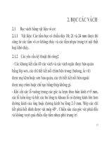 BÀI GIẢNG LẮP ĐẶT NỘI THẤT TÀU THUỶ & CÔNG TRÌNH BIỂN - PHẦN 2 docx