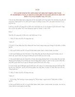 LUẬT VỀ SỬA ĐỔI, BỔ SUNG MỘT SỐ ĐIỀU CỦA LUẬT KHIẾU NẠI, TỐ CÁO pdf