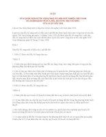 LUẬT VỀ SỬA ĐỔI, BỔ SUNG MỘT SỐ ĐIỀU CỦA LUẬT ĐẤT ĐAI docx