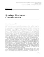 Fundamentals of Global Positioning System Receivers A Software Approach - Chapter 6 pps