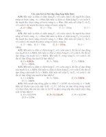 Các câu hỏi và bài tập tổng hợp kiến thức pps
