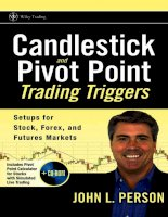Candlestick and pivot point trading triggers setups for stock forex and futures markets 2007 phần 1 pot