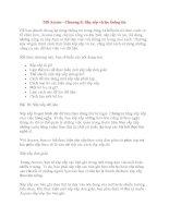 MS Access - Chương 5: Sắp xếp và lọc thông tin doc