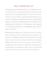 Y học cổ truyền kinh điển - sách Tố Vấn: Thiên 2 : TỨ KHÍ ĐIỀU THẦN LUẬN potx