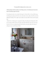 Ý tưởng thiết kế phòng tắm cho nhà vườn ppt