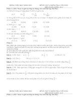 Bồ đề ôn thi toán lớp 5