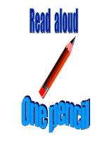 .Giáo án tiếng Anh lớp 4(P11) pps