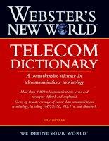websters new world Telecom Dictionary phần 1 potx