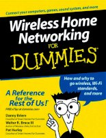 Wireless Home Networking for dummies phần 1 potx