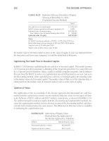 Business Valuation and Taxes Procedure Law and Perspective phần 6 potx