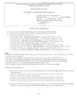 Bài tập thường kỳ hàm phức và phép biến đổi laplace doc