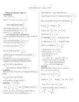 Chương I và II:Dao động cơ học và sóng cơ học pdf