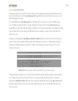 Giáo trình phân tích và tổng hợp những vấn đề thường phát sinh trong cấu hình mạng phần 5 doc