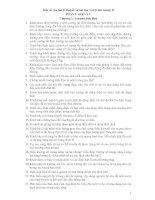 Một số câu hỏi lý thuyết và bài tập vật lý đại cương 2