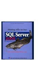 Hướng dẫn tự học SQL Server 2005 Express ( Từ căn bản đến nâng cao) part 1 pot