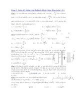 Dạng 5: Cuộn dây không cảm thuần có điện trở hoạt động (cuộn r, L) potx