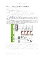 Hướng dẫn sử dụng Kit 89 - Bài 7 pdf