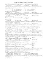 114 CAU TRAC NGHIEM ANDEHIT - XETON – AXIT potx