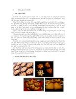 Tổng quan về bánh và quy trình sản xuất bánh