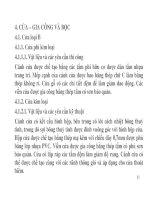 BÀI GIẢNG LẮP ĐẶT NỘI THẤT TÀU THUỶ & CÔNG TRÌNH BIỂN - PHẦN 4 ppt