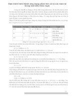 Giáo trình hình thành ứng dụng phân tích xử lý các toán tử trong một biểu thức logic p1 docx