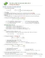 lý thuyết bài tập dao động cơ ôn thi đại học