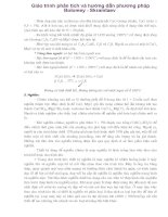 Giáo trình phân tích và hướng dẫn phương pháp Bolomey - Skramtaev phần 1 pps