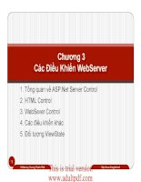 Chương 3 Các ứng dụng WebServer potx
