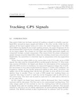 Fundamentals of Global Positioning System Receivers A Software Approach - Chapter 8 pps