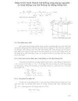 Giáo trình hình thành hệ thống ứng dụng nguyên lý hoạt động của hệ thống tự động khép kín p1 ppsx
