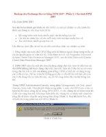 Backup cho Exchange Server bằng DPM 2007 - Phần 2: Cấu hình DPM 2007 ppsx