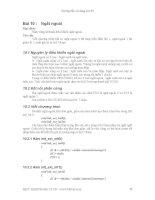 Hướng dẫn sử dụng Kit 89 - Bài 10 potx