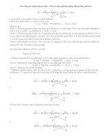 Cân bằng các phản ứng oxi hoá - khử sau theo phương pháp thăng bằng electron pot