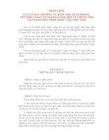 PHÁP LỆNH CỦA ỦY BAN THƯỜNG VỤ QUỐC HỘI VỀ CHỐNG TRỢ CẤP HÀNG HÓA NHẬP KHẨU VÀO VIỆT NAM pdf