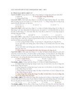 CÁC CHUYÊN ĐỀ LUYỆN THI ĐẠI HỌC 2011 – 2012 IV. PHẦN DAO ĐỘNG ĐIỆN TỪ ppsx