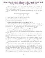 Giáo trình hướng dẫn tìm hiểu cấu trúc và hình dạng của đường truyền bức xạ phần 1 doc