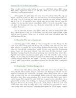 BẢO VỆ SỨC KHỎE - DINH DƯỠNG HỢP LÝ VÀ SỨC KHỎE – 4 docx