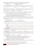 TUYỂN TẬP ĐỀ THI ĐẠI HỌC CAO ĐẲNG CÁC NĂM PHẦN DAO ĐỘNG ĐIỆN TỪ pdf