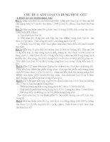 CHỦ ĐỀ 1: KIM LOẠI VÀ DUNG DỊCH AXIT pot