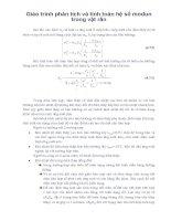 Giáo trình phân tích và tính toán hệ số modun trong vật rắn phần 1 potx