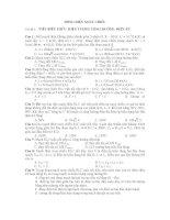 DÒNG ĐIỆN XOAY CHIỀU Chủ đề 2 : VIẾT BIỂU THỨC. HIỆN TƯỢNG CỘNG HƯỞNG potx