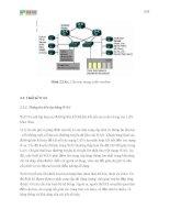 Giáo trình phân tích và tổng hợp những vấn đề thường phát sinh trong cấu hình mạng phần 2 pptx