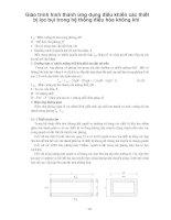 Giáo trình hình thành ứng dụng điều khiển các thiết bị lọc bụi trong hệ thống điều hòa không khí p1 pdf