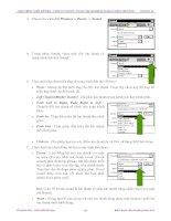 GIAÙO TRÌNH THIEÁT KEÁ WEB : PHAÀN LYÙ THUYEÁT - TÖÏ HGiáo trình Macromedia Flash: Thiết kế và định dạng file ảnh Flash với .MP3 và .WAV phần 3OÏC MACROMEDIA FLASH 5.0 BAÈNG ppt