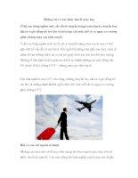 Những rủi ro sức khỏe khi đi máy bay pptx