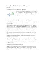206. Cervical Cancer Vaccine Moves Toward U.S. Approval pdf