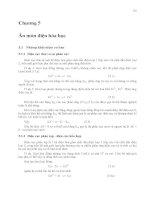 Ăn mòn và bảo vệ kim loại ( Trịnh Xuân Sén ) - Chương 5 doc