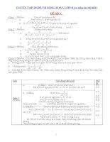 Tuyển tập 25 đề thi học sinh giỏi toán lớp 8 ( có đáp án chi tiết)