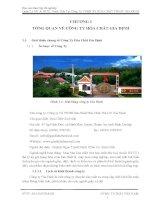Báo cáo thực tập tốt nghiệp Quản Lý MT  HTXL Nước Thải Tại Công Ty TNHH SX HÓA CHẤT TMDV GIA ĐỊNH