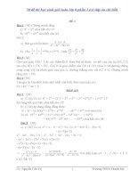 50 đề thi học sinh giỏi toán lớp 8 phần 1 (có đáp án chi tiết)